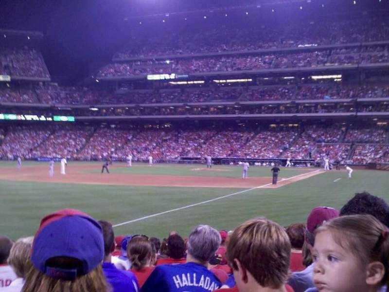 Seating view for Citizens Bank Park Section 138 Row 15 Seat 9