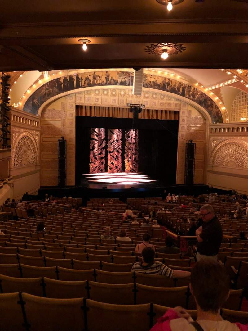 Seating view for Auditorium Theatre Section Drs Row LL Seat 501