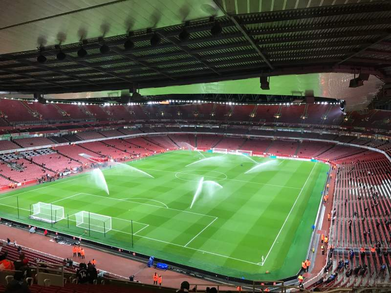 Seating view for Emirates Stadium Section 120 Row 20 Seat 822