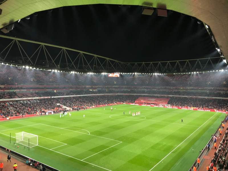 Seating view for Emirates Stadium Section 119 Row 2 Seat 793