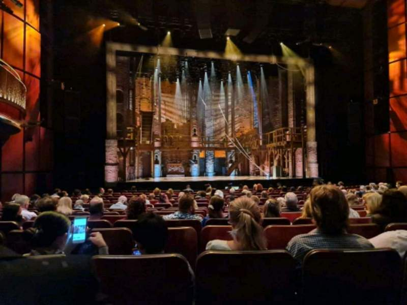 Seating view for Sydney Lyric Section stalls Row M Seat 22