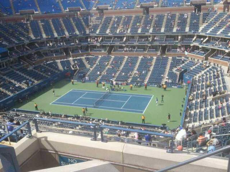 Seating view for Arthur Ashe Stadium Section 313 Row 1