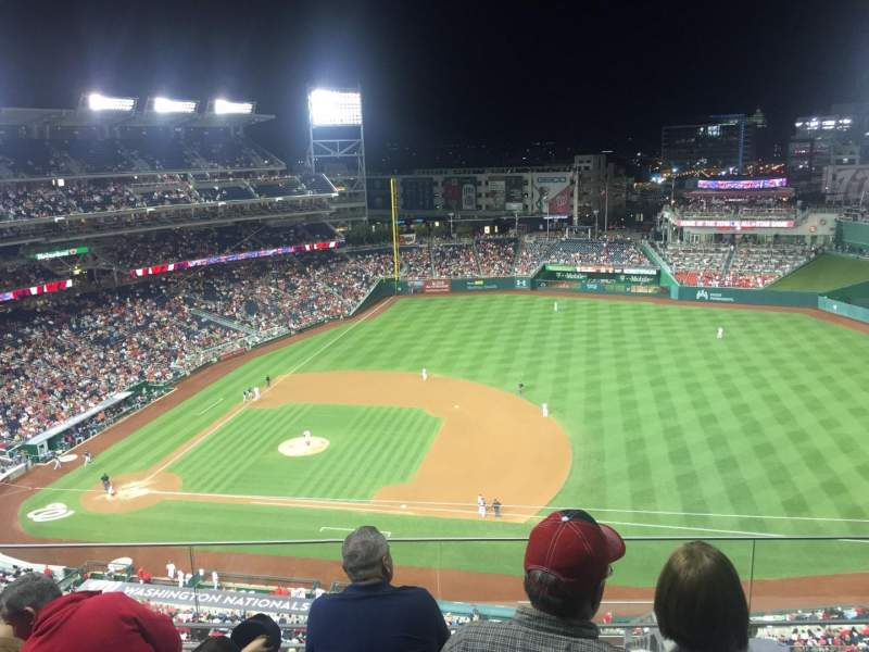 Seating view for Nationals Park Section 420 Row N  Seat 31