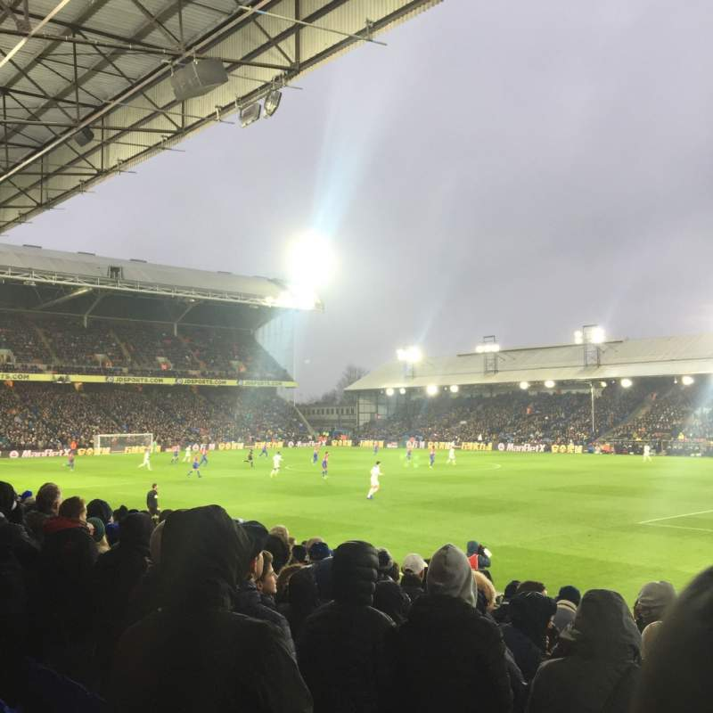 Seating view for Selhurst Park Section R Row 15 Seat 12
