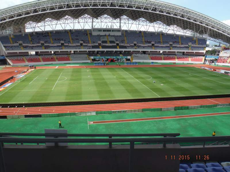 Seating view for Estadio Nacional de Costa Rica Section Sombra Este E-23 Row H Seat 16