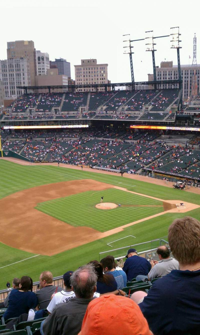 Seating view for Comerica Park Section 338 Row 10 Seat 12