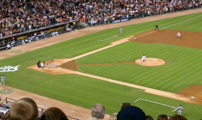 Seating view for Comerica Park Section 218 Row 9 Seat 17