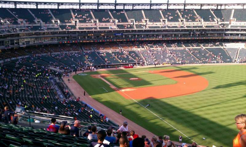 Seating view for Comerica Park Section 212 Row 16 Seat 5