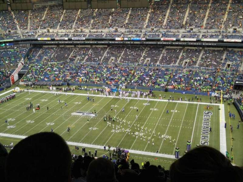 Seating view for CenturyLink Field Section 331 Row LL Seat 16