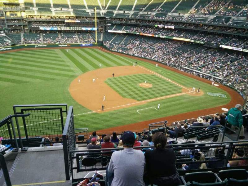 Safeco Field Section Row Seat Seattle Mariners Vs - Safeco field interactive seating chart