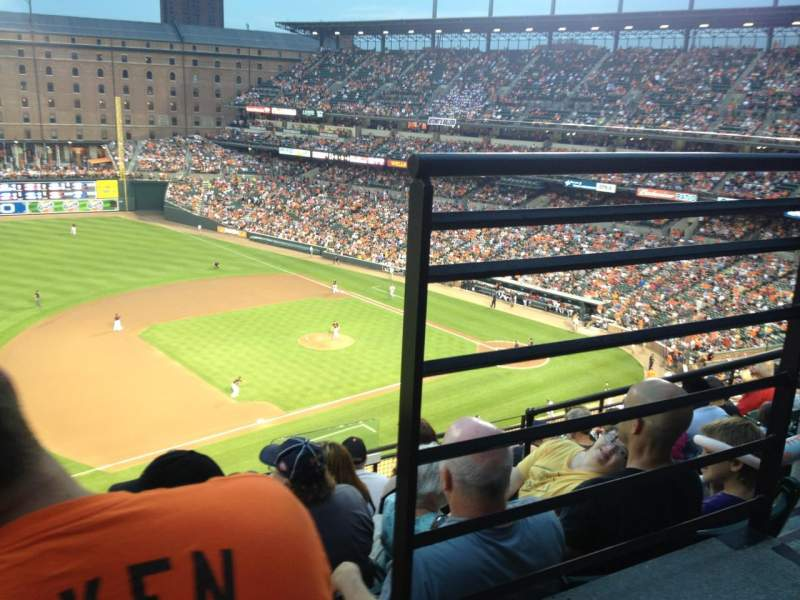 Seating view for Oriole Park at Camden Yards Section 360 Row 8 Seat 1