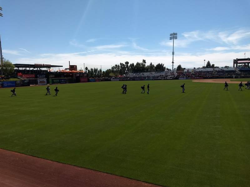 Seating view for Scottsdale Stadium Section Lawn