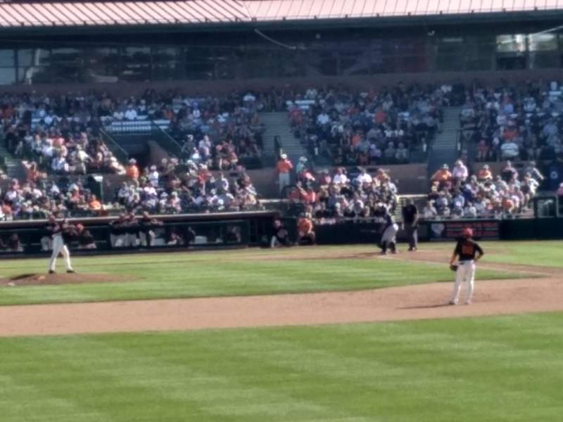 Seating view for HoHoKam Stadium Section Lawn