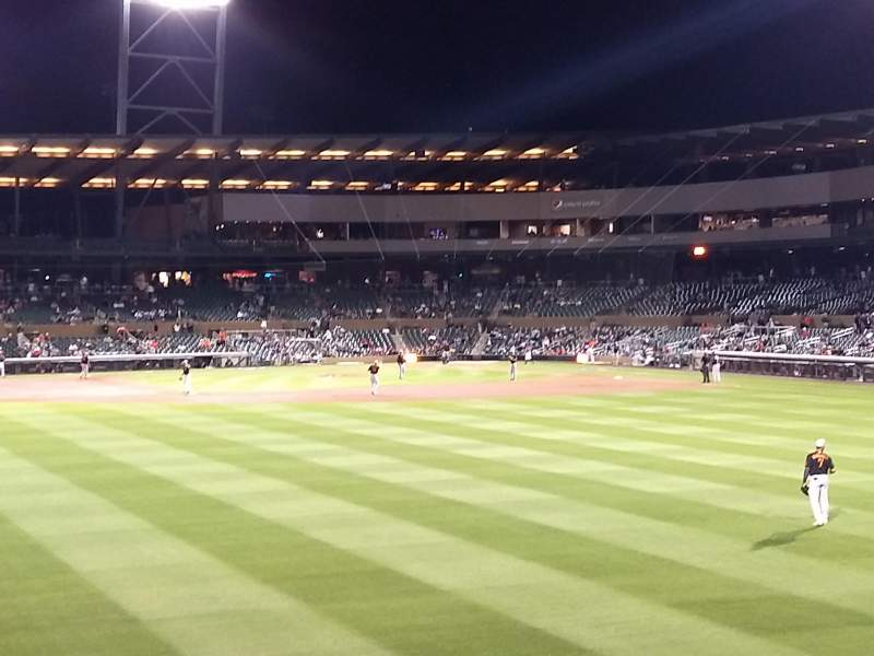 Seating view for Salt River Fields Section Lawn