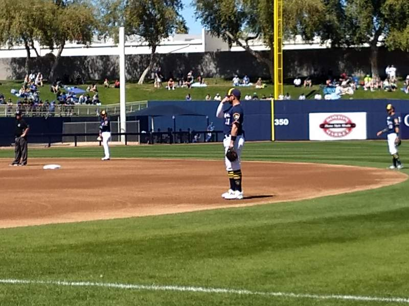 Seating view for Maryvale Baseball Park Section 115 Row b Seat 16