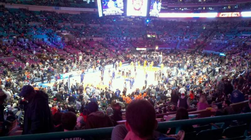Seating view for Madison Square Garden Section 212 Row C Seat 8