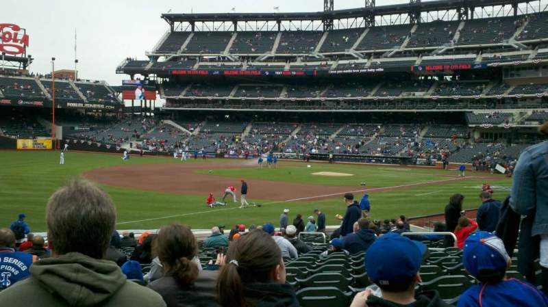 Seating view for Citi Field Section 126 Row 19 Seat 11
