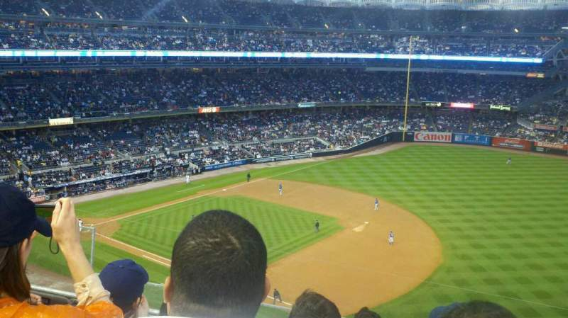 Seating view for Yankee Stadium Section 312 Row 4 Seat 23