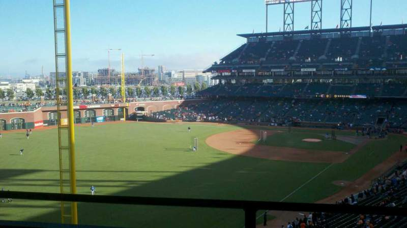 Seating view for AT&T Park Section Suite 63 Row C Seat 10