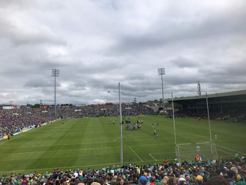 Seating view for Gaelic Grounds Section Clare End