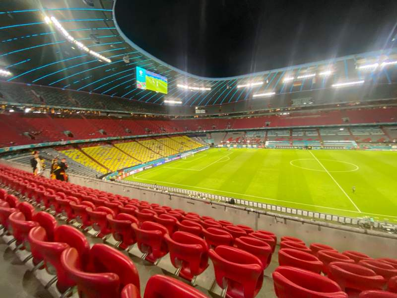 Seating view for Allianz Arena Section 230 Row 6 Seat 7