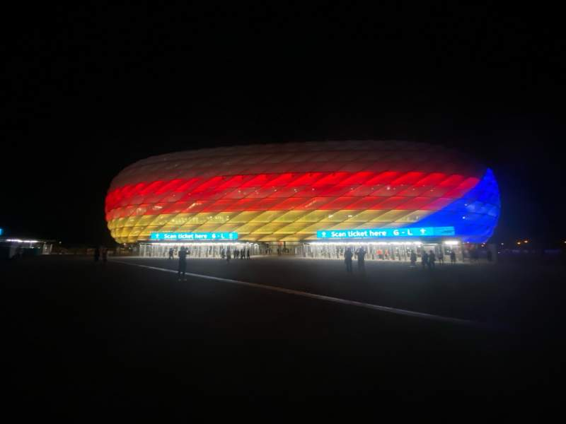 Seating view for Allianz Arena Section Outside