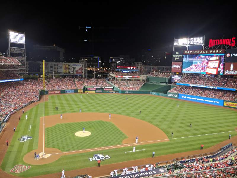 Seating view for Nationals Park Section 317 Row C Seat 7