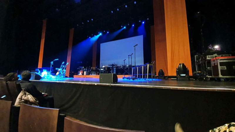 Seating view for Salle Pleyel Section Parterre Bas Pair Row AC Seat 24