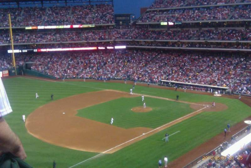 Seating view for Citizens Bank Park Section 328 Row 6 Seat 4