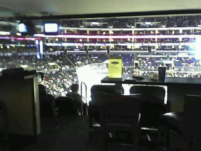 Seating view for Staples Center Section Suite A15