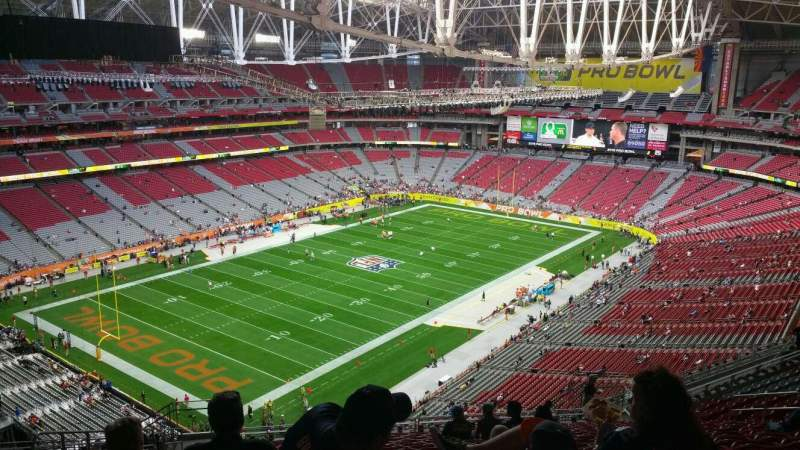 Seating view for University of Phoenix Stadium Section 452 Row 19 Seat 23