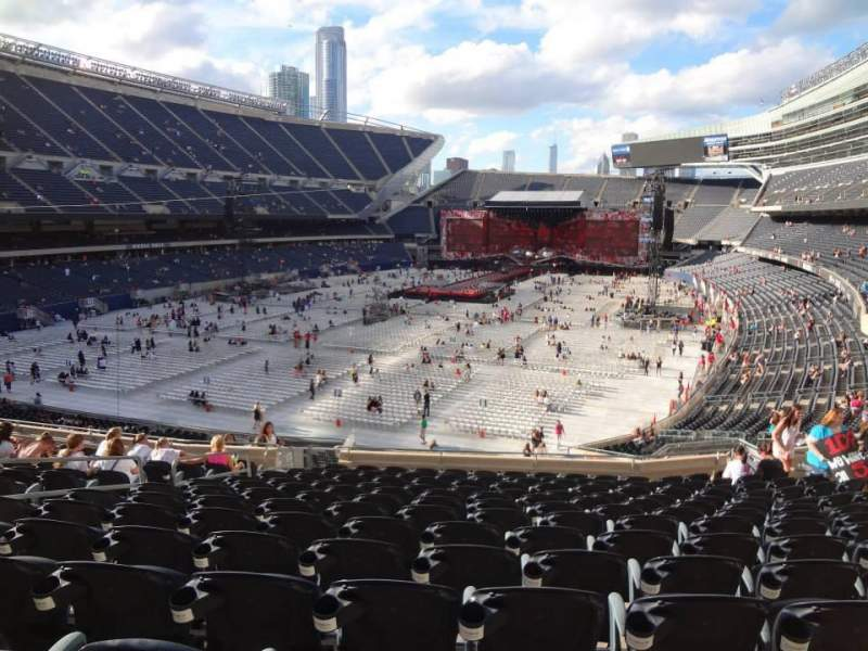 Seating view for Soldier Field Section 219 Row 14 Seat 8