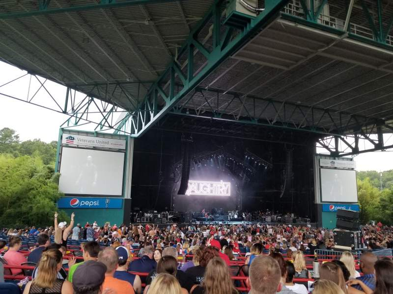 Veterans United Home Loans Amphitheater, section: 204, row: N, seat: 20