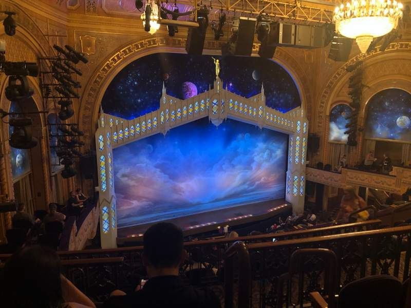 Seating view for Eugene O'Neill Theatre Section Mezzanine L Row H Seat 3