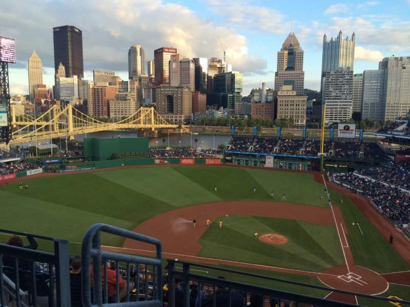 Seating view for PNC Park Section 321 Row K Seat 11