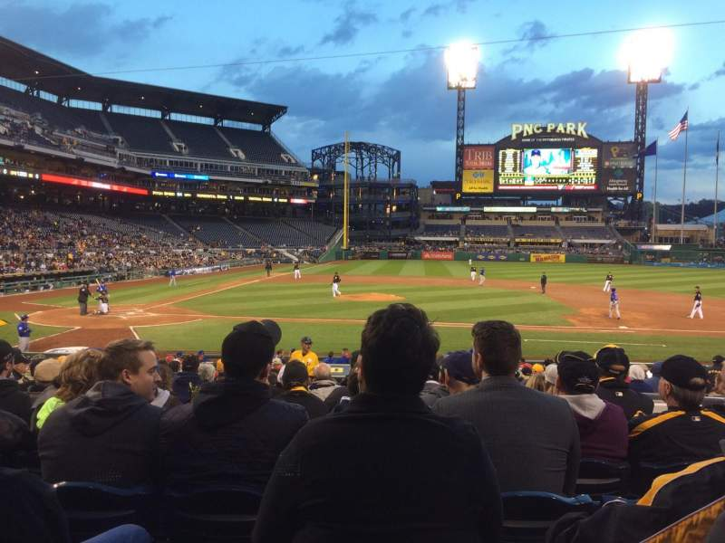 Seating view for Pnc Park Section 112 Row K Seat 4