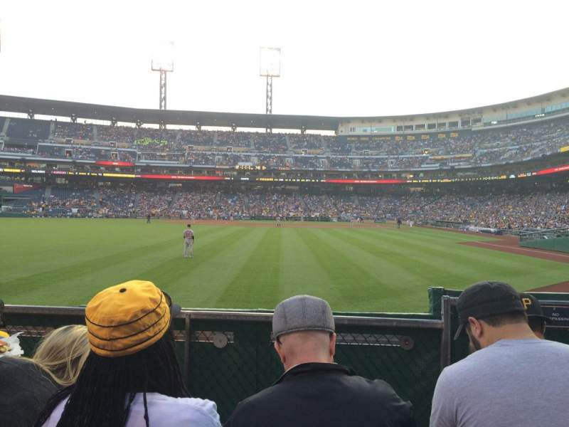 Seating view for PNC Park Section 135 Row D Seat 5