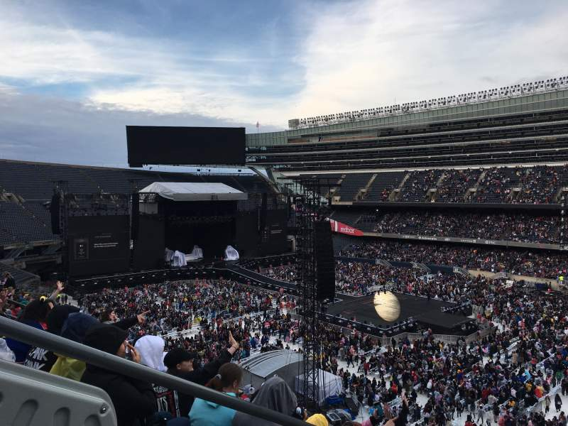 Seating view for Soldier Field Section 336 Row 11 Seat 2