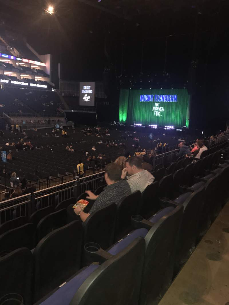 The O2 Arena, section: 110, row: M, seat: 305