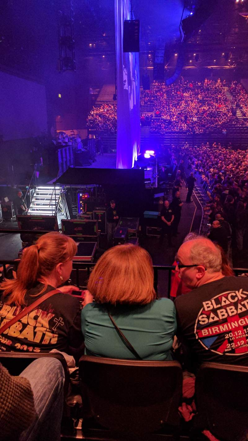 Seating view for Genting Arena Section 16 Row G Seat 513
