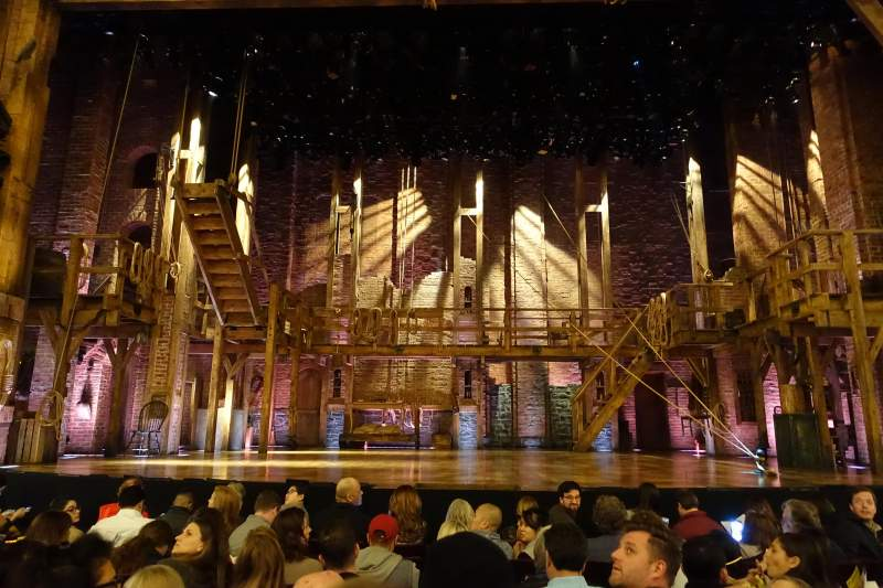 Seating view for Richard Rodgers Theatre Section Orchestra C Row G Seat 106