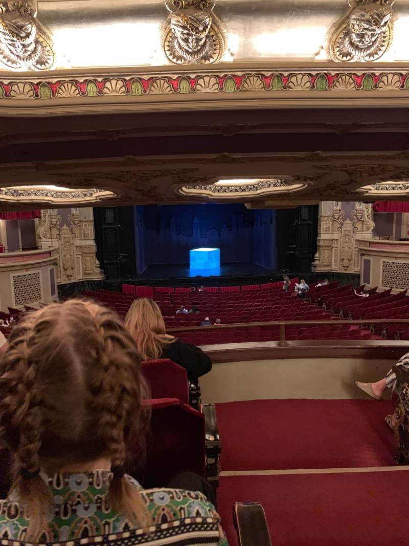 Seating view for James M. Nederlander Theatre Section Dress Circle LC Row D Seat 221