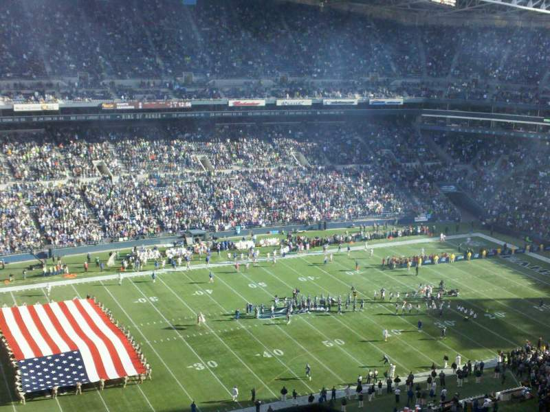 Seating view for CenturyLink Field Section 339 Row EE Seat 7