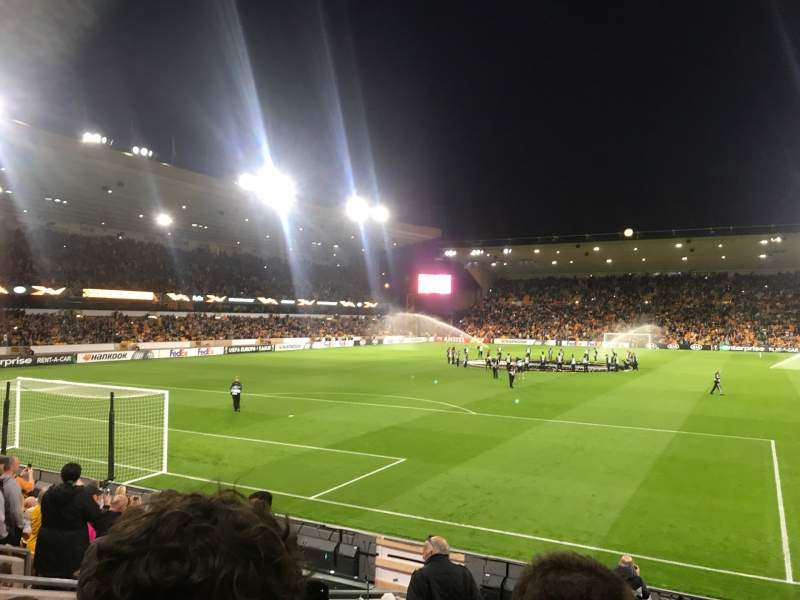 Seating view for Molineux Stadium Section NL2 Row L Seat 35