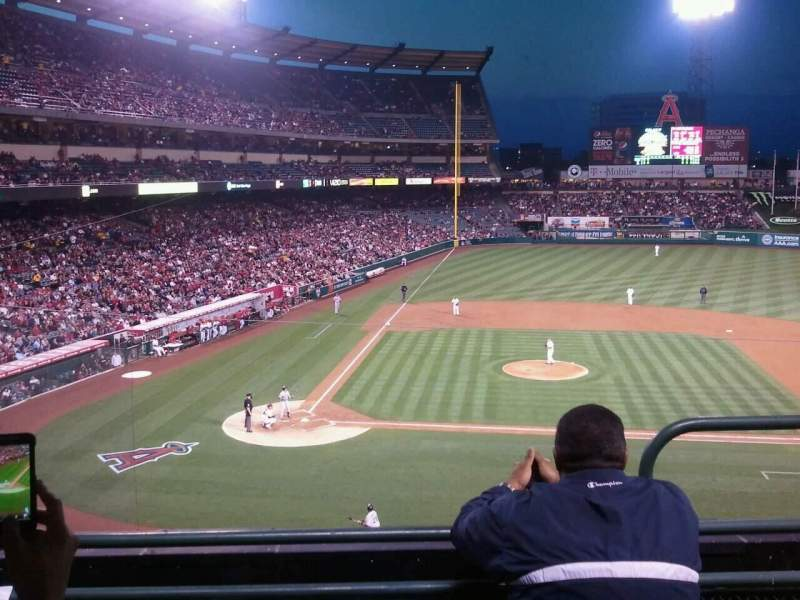 Seating view for Angel Stadium Section C332 Row C Seat 9