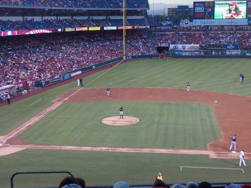 Seating view for Angel Stadium Section C334 Row H Seat 2