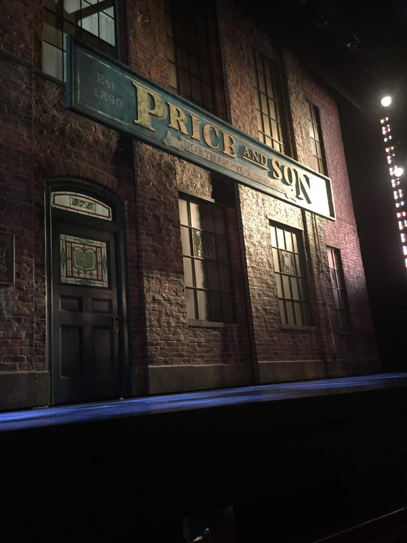 Seating view for Al Hirschfeld Theatre Section Orchestra L Row C Seat 5