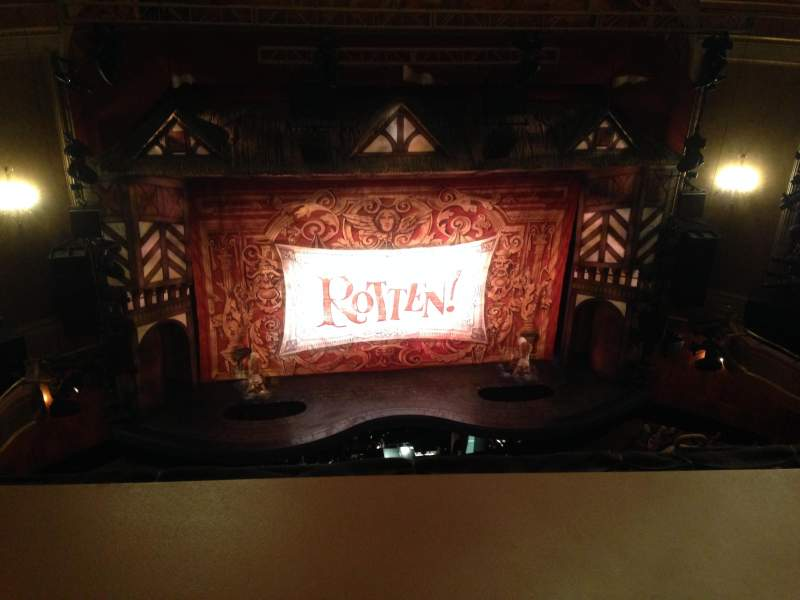 Seating view for St. James Theatre Section Balcc Row A Seat 113
