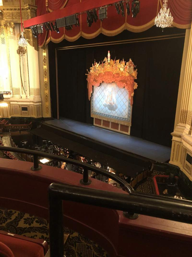 Seating view for Boston Opera House  Section Dress circle Row BB Seat 42