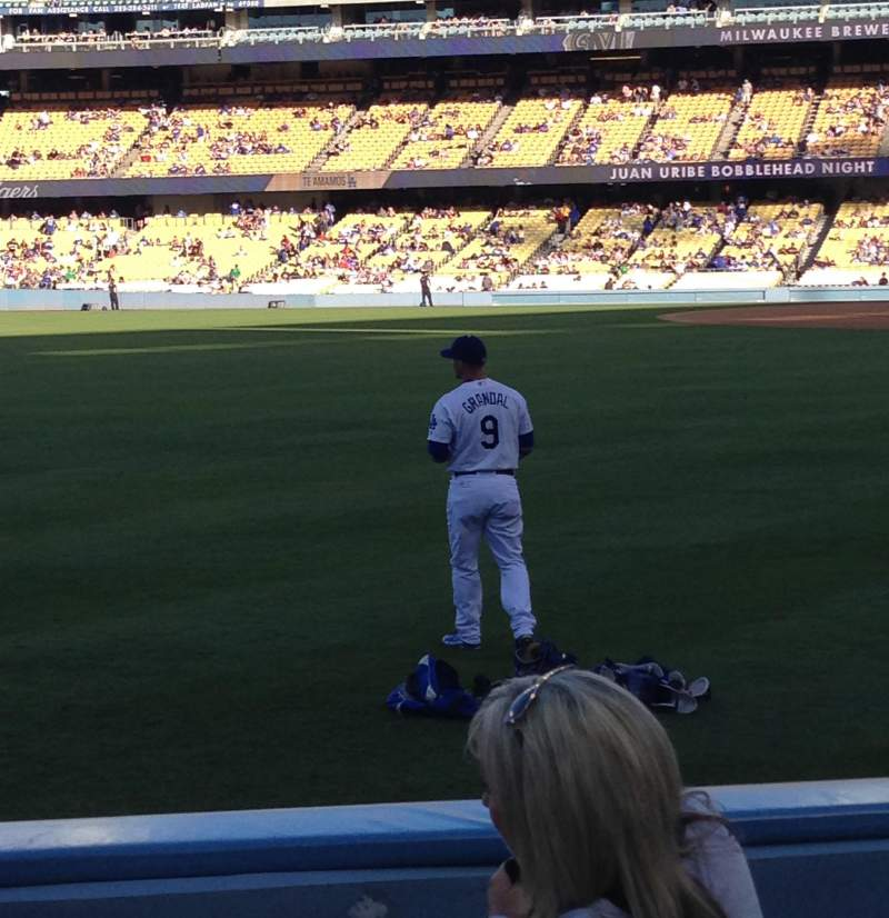 Seating view for Dodger Stadium Section 51fd Row E Seat 8